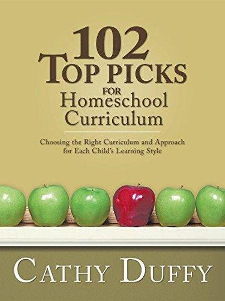 102 Top Picks for Homeschool Curriculum- Book