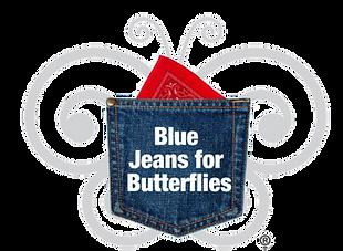 Blue Jeans for Butterflies logo