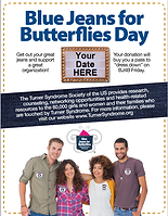 Flyer- Blue Jeans for Butterflies
