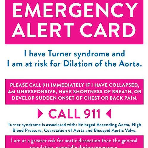 TS Cardiac Emergency Alert Card