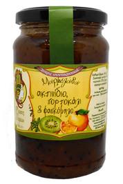 Μαρμελάδα Ακτινίδιο με Πορτοκάλι & Φασκόμηλο