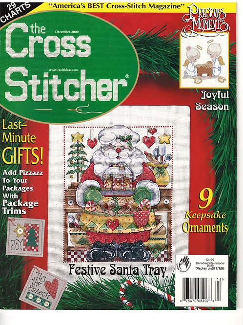 The Cross Stitcher Dec 2000