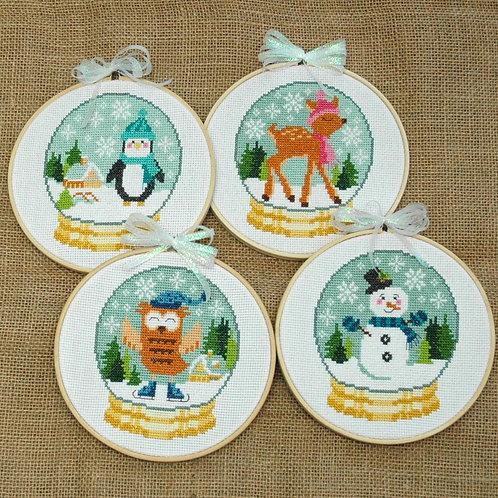 Cute Winter Snow Globes
