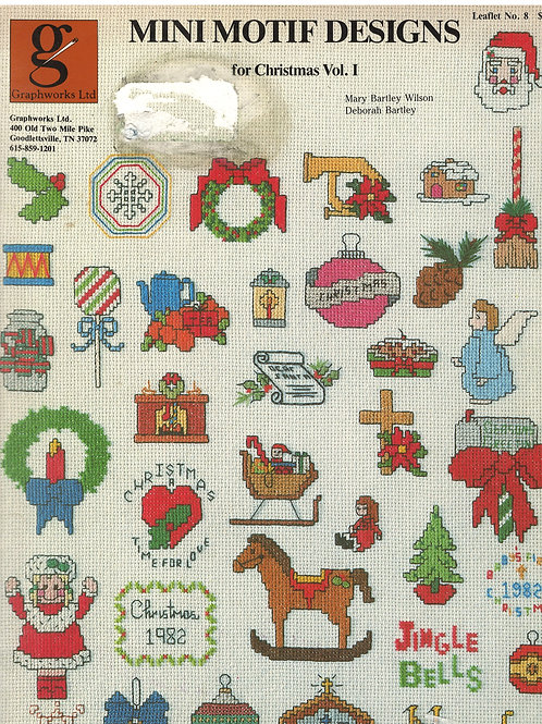 Mini Motif Designs For Christmas Vol. I