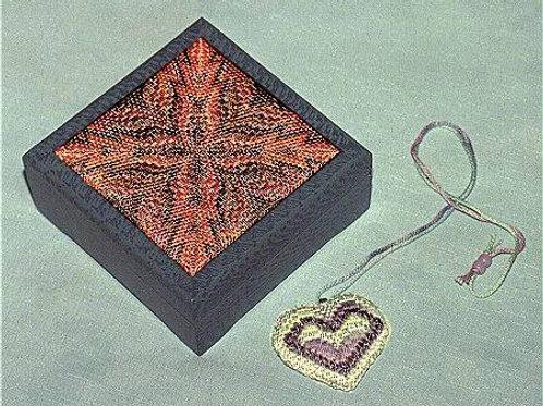 4-Way Bargello Box & Necklace