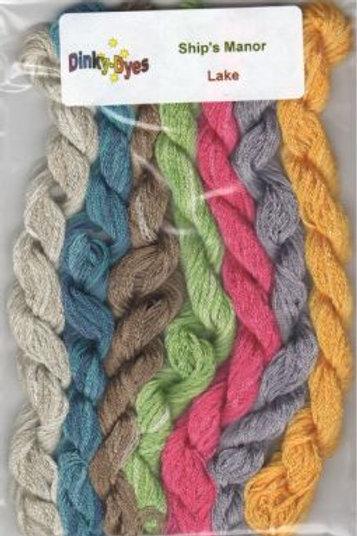 Lake Silk Thread Pack