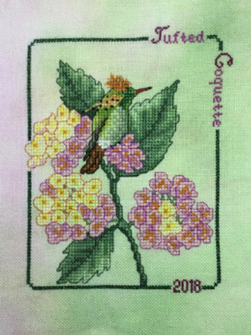 Hummingbird Collector Series 2018 Tufted Coquette Hummer