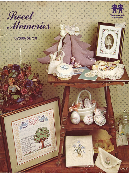 Sweet Memories Cross-Stitch