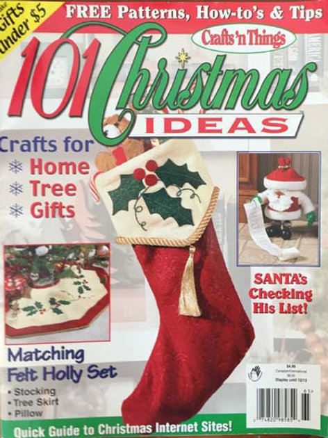 Crafts 'n Things 101 Christmas Ideas