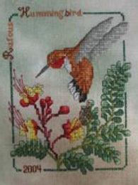Hummingbird Collector Series 2004 Rufous Hummer