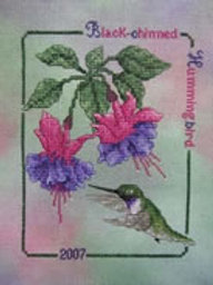2007 Black-Chinned Hummingbird | Crossed Wing Collection
