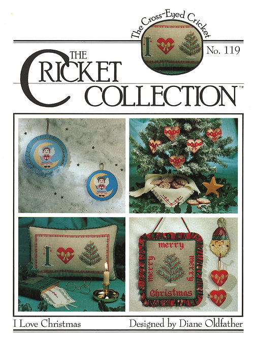 I Love Christmas No 119 | The Cross-Eyed Cricket