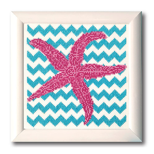 Chevron Starfish | Tiny Modernist
