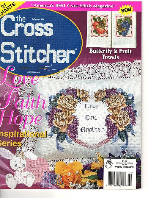 The Cross Stitcher Feb 2001