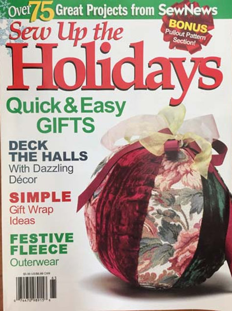 Sew Up the Holidays December 2001