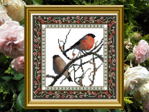 Bird Tapestries 1 - Bullfinch