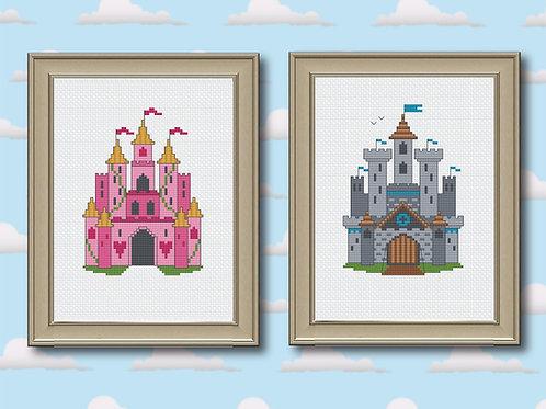 Princess Castle & Medieval Castle