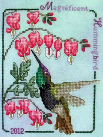 2012 Magnificent Hummingbird | Crossed Wing Collection