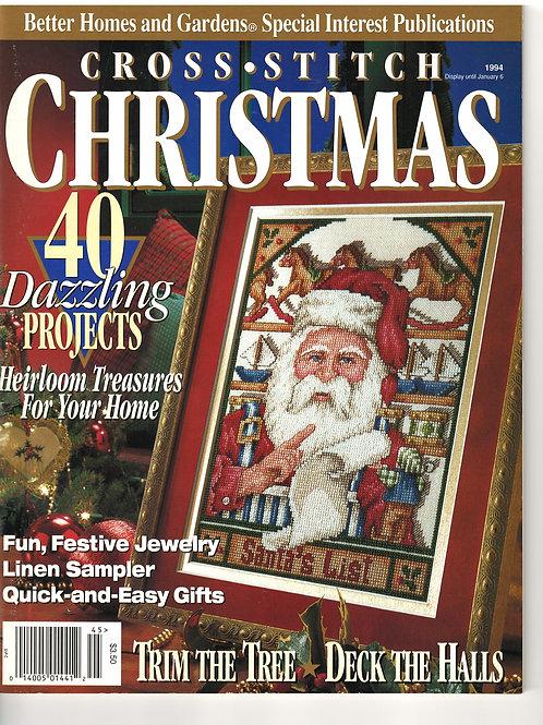 Cross Stitch Christmas 1994