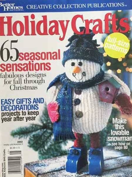 Better Homes and Gardens Holiday Crafts 2002