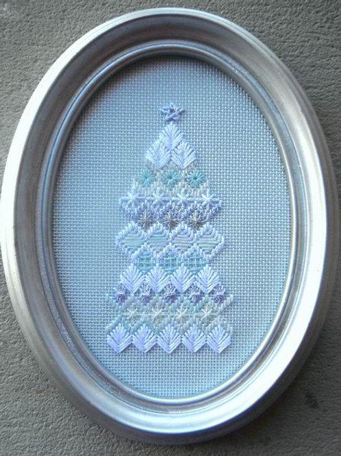 Silvery Christmas Tree Kit