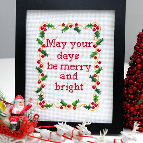 May Your Days be Merry & Bright | Tiny Modernist