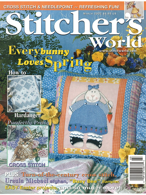 Stitcher's World March 2002