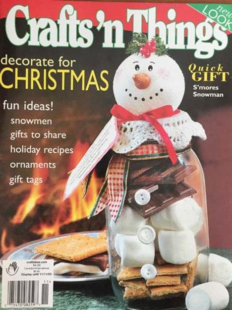 Crafts 'n Things Nov 2003