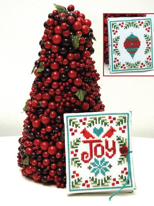 Joy Needlebook Christmas | Tiny Modernist