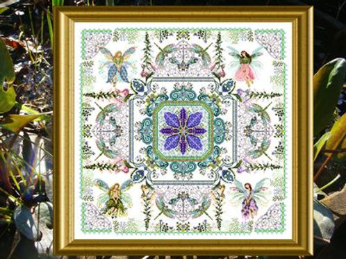 The Fairy Flower Garden Mandala