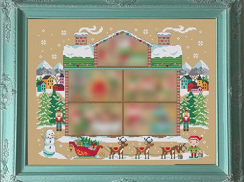 Santa's House - Tiny Modernist 2018 Christmas SAL | Tiny Modernist