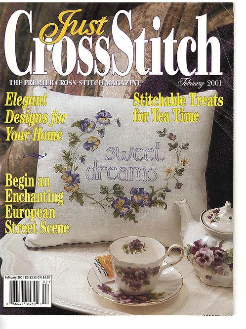Just Cross Stitch Feb 2001