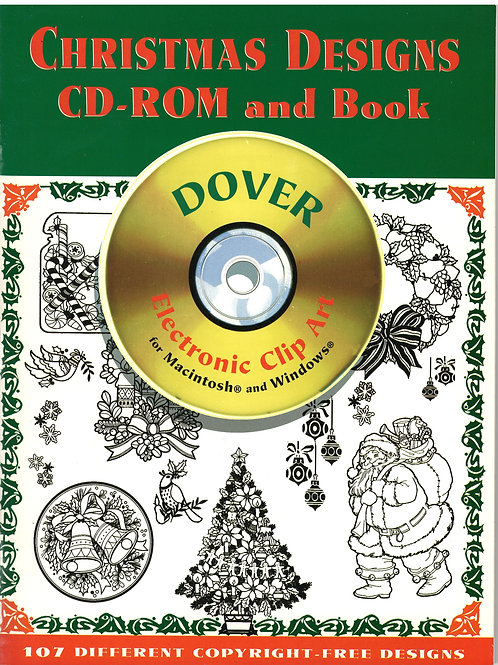 Christmas Designs CD-ROM and Book