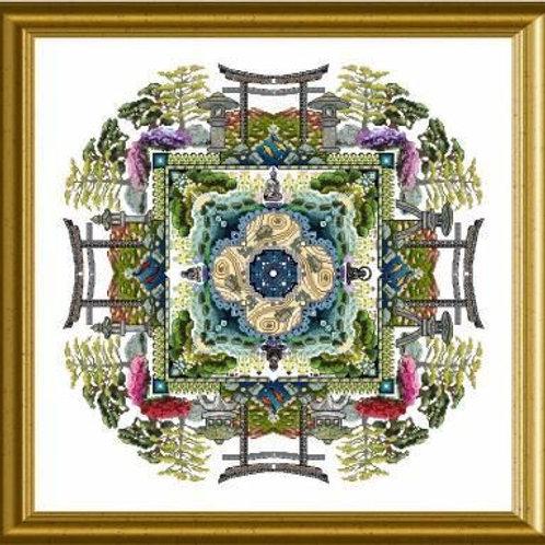 The Japanese Moss Garden Mandala