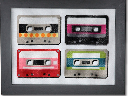 Retro Cassettes | Tiny Modernist