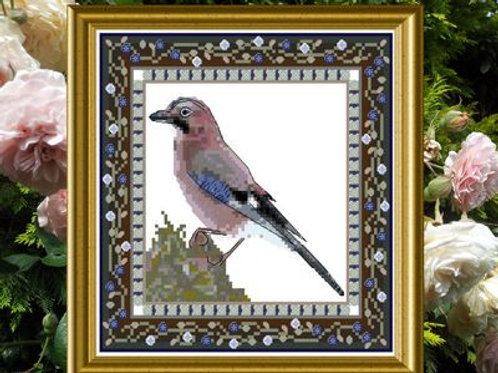 Bird Tapestries 2 - Jaybird