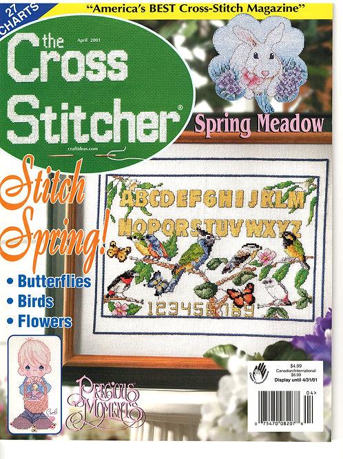 The Cross Stitcher April 2001