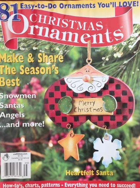 Christmas Ornaments 2003
