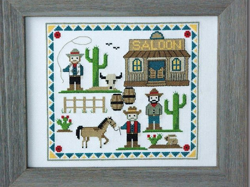 Cute Cowboys | Tiny Modernist