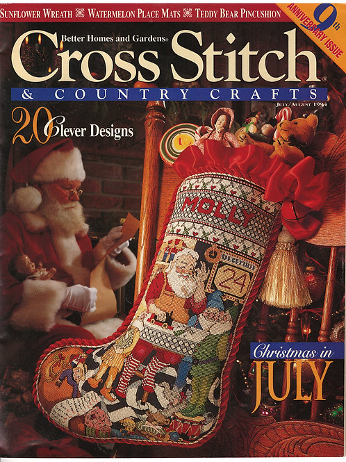 Cross Stitch & Country Crafts 9th Anniversary Issue