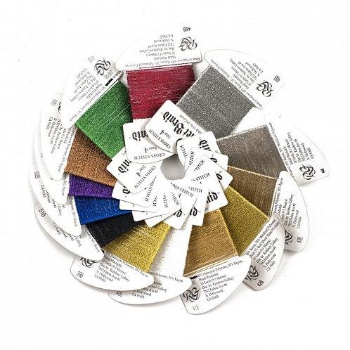 Coronet Braid #8   Rainbow Gallery