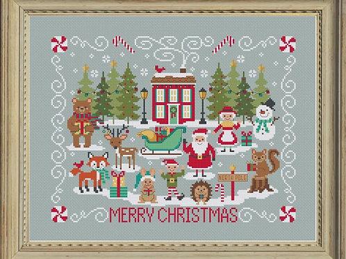 Christmas Stitch Along Club   Tiny Modernist