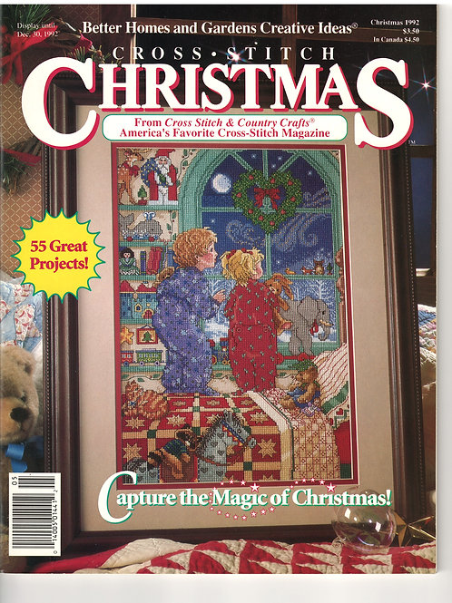 Cross Stitch Christmas 1992