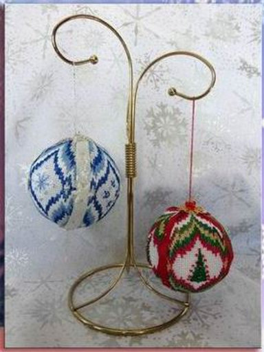 Christmas Balls 3 - Snowflakes & Christmas Trees | Northern Pine Designs