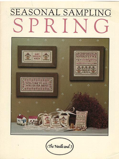 Seasonal Sampling Spring | The Needle and I