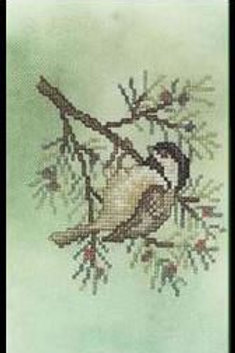Blended Backgrounds - Chickadee