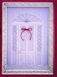 Christmas Door in White Kit | Northern Pine Designs