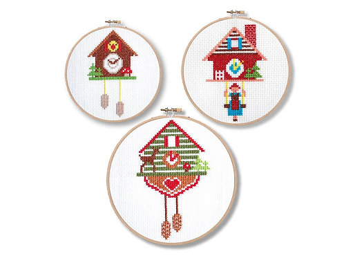 Red Cuckoo Clocks