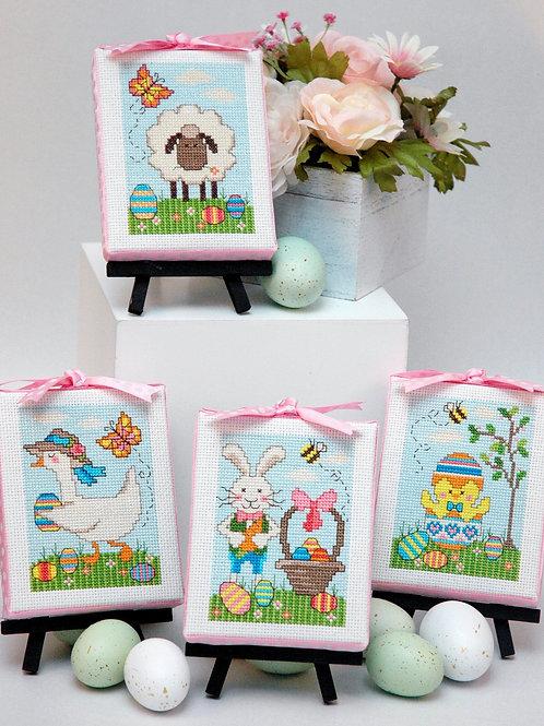 Easter Cuties Set of 4