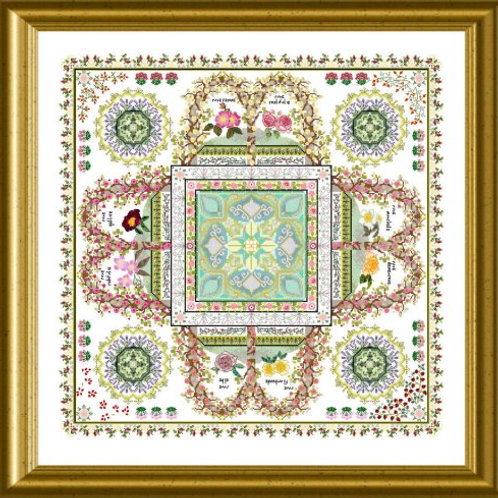 The Rosarium Mandala